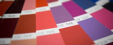 Powder Coating Colours and Options
