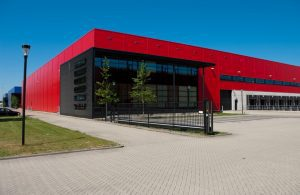 Powder Coated Architectural Aluminium for a fire station